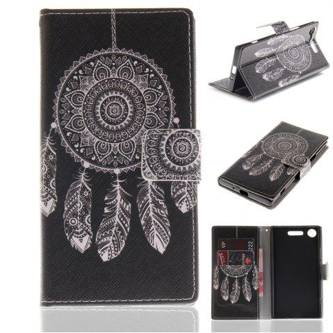 Fashion Cover Case for Sony XZ1 Colourful Brackets PU Leather
