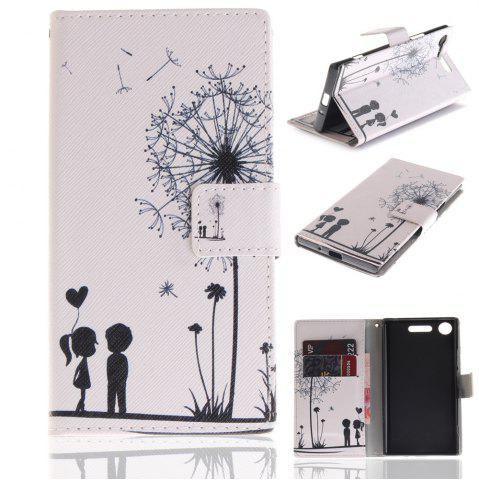 Sale Cover Case for Sony XZ1 Colourful Brackets PU Leather