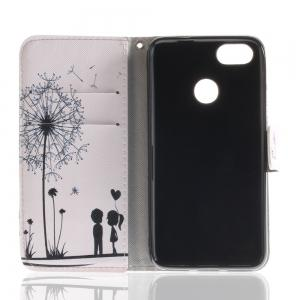 Cover Case for Huawei P9 Lite Mini Colourful Brackets PU Leather -