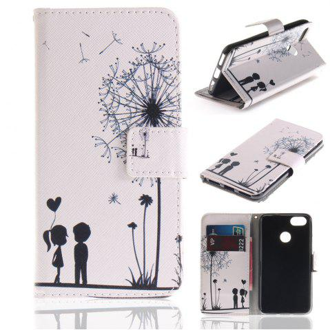 Fancy Cover Case for Huawei P9 Lite Mini Colourful Brackets PU Leather