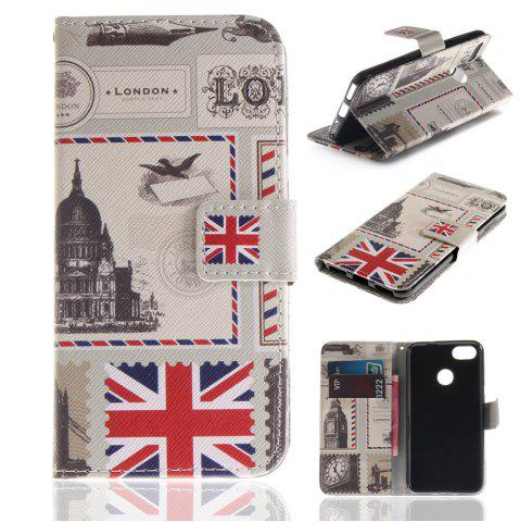 Shops Cover Case for Huawei P9 Lite Mini Colourful Brackets PU Leather