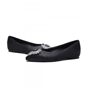 Women's Flats Colorful Rhinestone Pointed Toe Casual Stylish Shoes -
