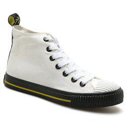 Мужчины в случайном All-Match Breathable Student Canvas Fashion Shoes -
