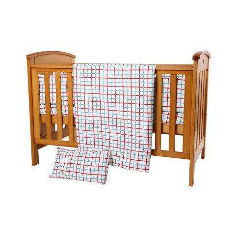 Trendy I-Baby 9 Pcs Cotton Printed Crib Bedding