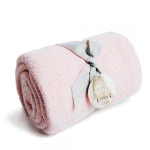 Ibaby Newborn Infant Baby Wrap Fluffy Feather Yarn Jacquard Blanket Safari Swaddling -