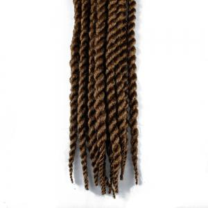 One Pack 18 inch Havana Twist Crochet Hair Mambo Twist Synthetic Extension Natural Black -