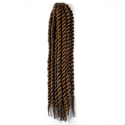 Trendy One Pack 18 inch Havana Twist Crochet Hair Mambo Twist Synthetic Extension Natural Black