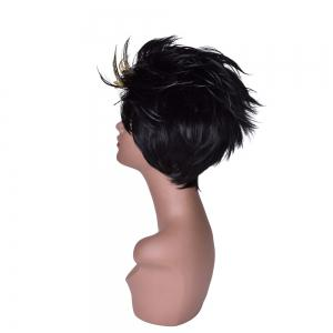 Hairyougo 4041 6 inch Short Straight Synthetic Women Wig -