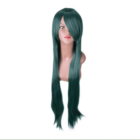 Chic Hairyougo Long Straigh High Temperature Fiber Synthetic Cosplay  Wig 85cm 1pc