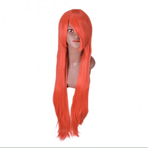 Outfits Hairyougo Long Straigh High Temperature Fiber Synthetic Cosplay  Wig 85cm 1pc