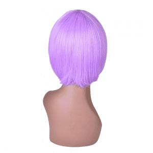 Hairyougo 6 inch Short Straight High Temperature Fiber Synthetic Bob Wig -