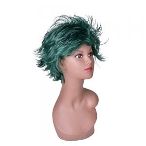 Hairyougo 4070 Heat Resistance Short Fluffy Layered Synthetic Cosplay Wig -
