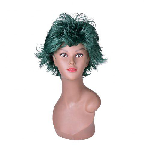 Latest Hairyougo 4070 Heat Resistance Short Fluffy Layered Synthetic Cosplay Wig