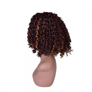 Hairyougo 0444 13 inch Afro Kinky Curly Medium Length High Temperature Fiber Wig -
