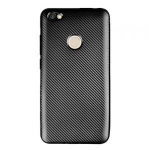 Cover Case for Redmi Note 5A Soft Carbon Fiber Luxury TPU -