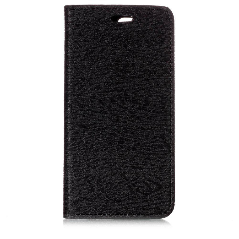 Housse de protection pour porte-cartes One Plus 5T avec support Flip Full Body Lines / Waves Hard PU cuir