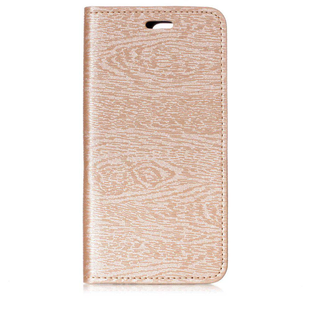 Online Cover Case for One Plus 5T Card Holder with Stand Flip Full Body Lines / Waves Hard PU Leather