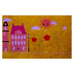 Hand Painted Children's World Blanket Mats -