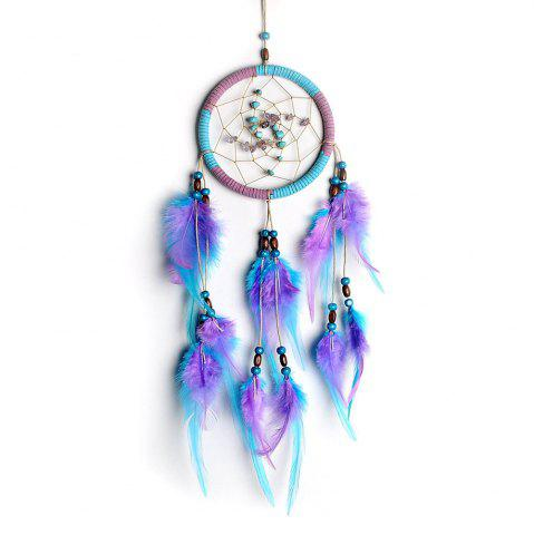 Discount The New Violet Lucky Stone Dreamcatcher Household Pendant
