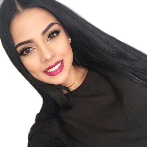Buy Modern Fairy Virgin Human Hair Front Lace Wig Straight Free Part