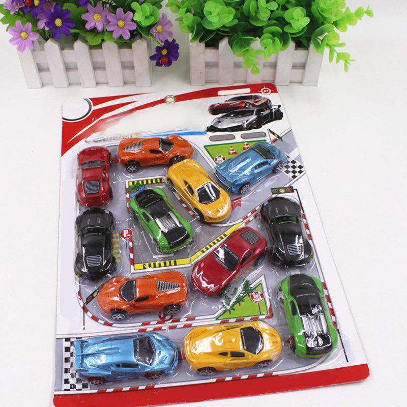 Store Simulation Car Toy Combination Package for Kids 12PCS