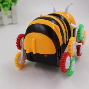 Bee Dumpers Electric DIY Toy Automatic Turning Children Toy Car -