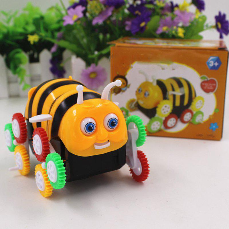 Store Bee Dumpers Electric DIY Toy Automatic Turning Children Toy Car