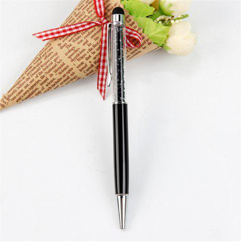 Outfits 2 in 1 Slim Stylus Touch Ballpoint Multi Function Tablet Pen for iPad iPhone Smartphone Tablet