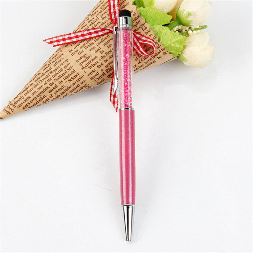 Discount 2 in 1 Slim Stylus Touch Ballpoint Multi Function Tablet Pen for iPad iPhone Smartphone Tablet