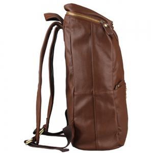 1PC Men'S Backpack  Fashion PU Leather College Bags -