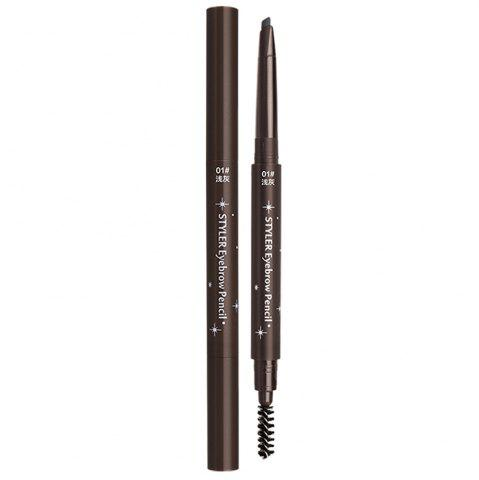 Chic City Shop NCS045 Light Grey Triangle Automatic Eyebrow Pencil