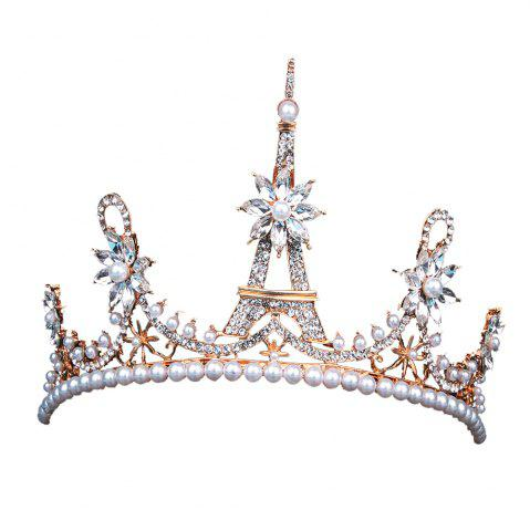 Cheap Eiffel crown    Model jewelry  The bride headdress