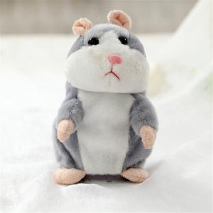 Talking Hamster Mouse Pet Plush Toy Cute Speak Talking Sound Record Doll Educational Children Gift -