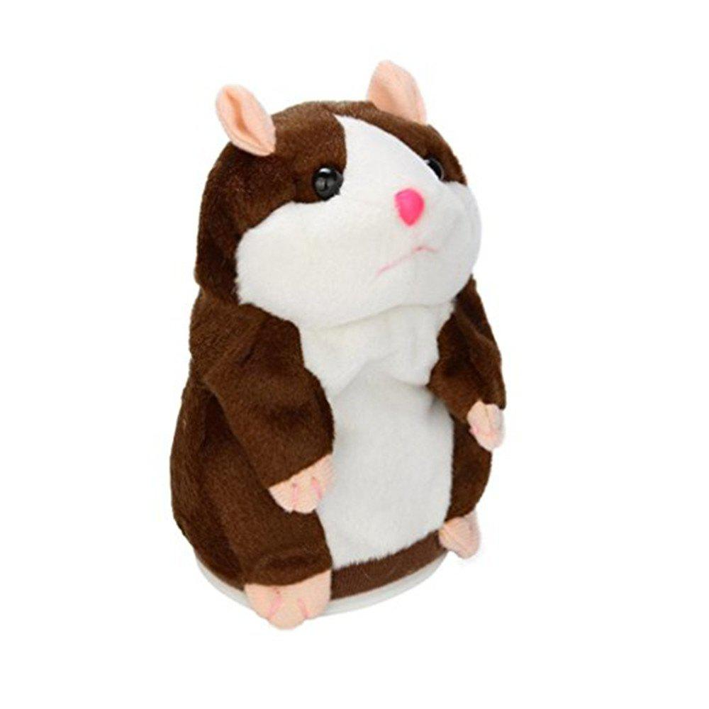 Affordable Talking Hamster Mouse Pet Plush Toy Cute Speak Talking Sound Record Doll Educational Children Gift