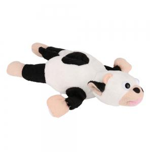 New Funny Paw Toys Lovely Novelty Flying Cow Screaming Slingshot Plush Toys Kids Gift -