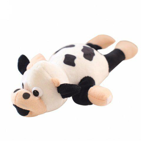 Affordable New Funny Paw Toys Lovely Novelty Flying Cow Screaming Slingshot Plush Toys Kids Gift
