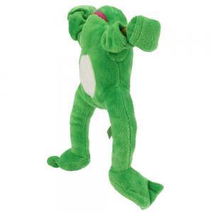 New Funny Paw Toys Lovely Novelty Flying Frog Screaming Slingshot Plush Kids Gift -