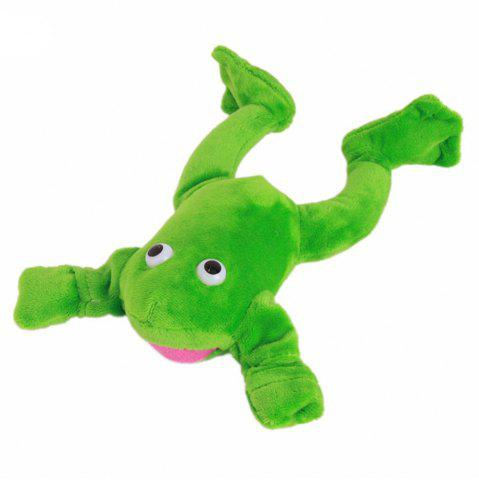 Outfit New Funny Paw Toys Lovely Novelty Flying Frog Screaming Slingshot Plush Kids Gift