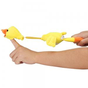 New Funny Paw Toys Lovely Novelty Flying Duck Screaming Slingshot Plush Kids Gift -