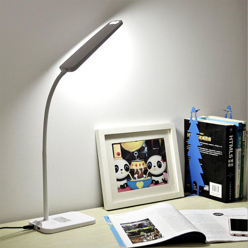 Hot BRELONG  LED Table Lamp Dimming Study Reading Lamp USB Output Charging
