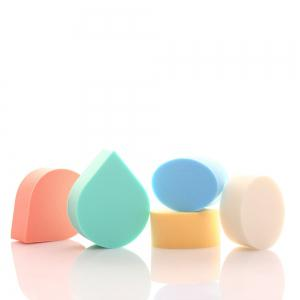Boxed Water Droplets Oval Makeup Sponge Puff -