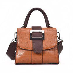 Hit Crocodile Pattern Female Wild Messenger Shoulder Bag -