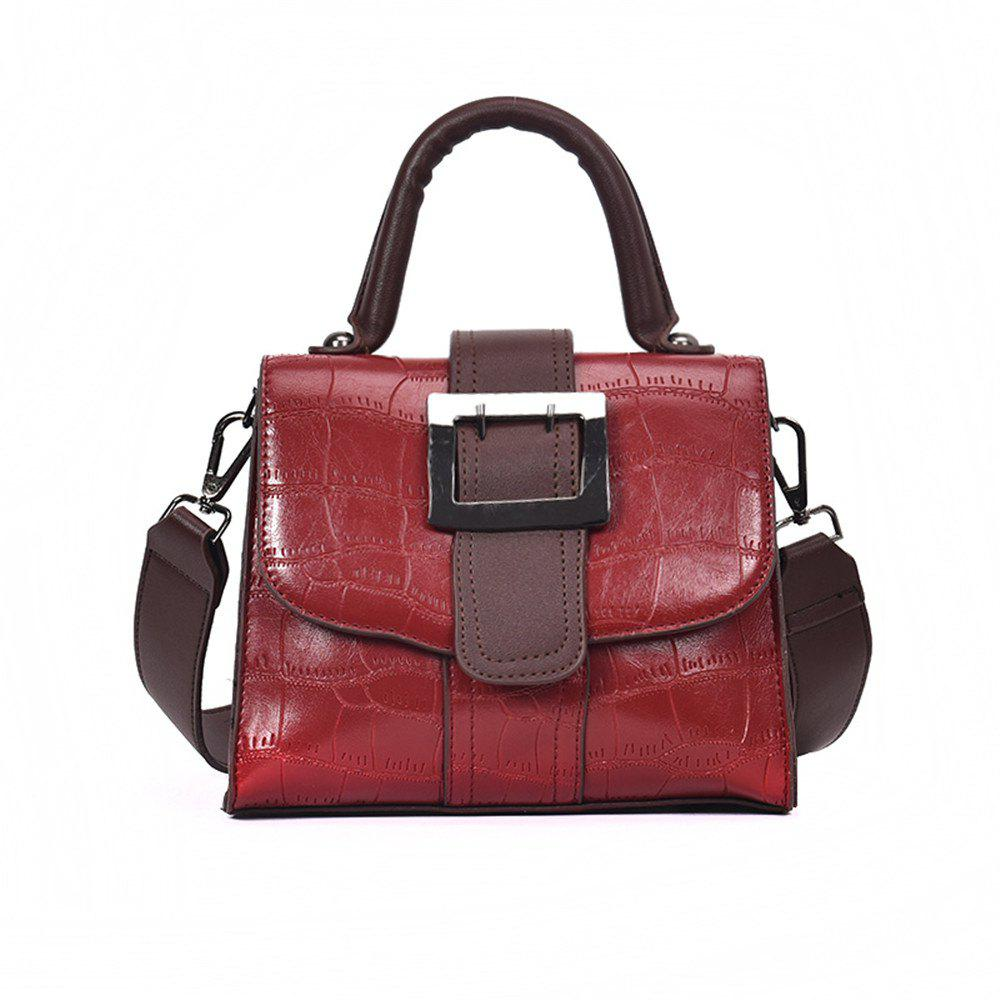 Shop Hit Pattern Female Wild Messenger Shoulder Bag