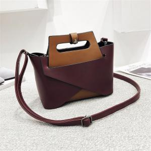 Europe and The United States Fashion Handbags Women Simple Shoulder Messenger Two-Piece Bag -
