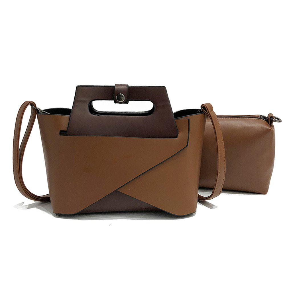 Cheap Europe and The United States Fashion Handbags Women Simple Shoulder Messenger Two-Piece Bag