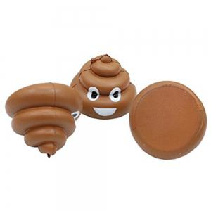 Slow Rebound Simulation Poop 8.5CM Children Show Off Their Toys -