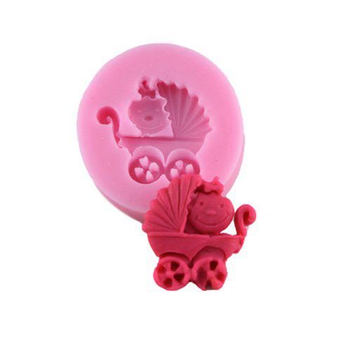 Store Cake Decoration Cart Silicone Fondant Mold