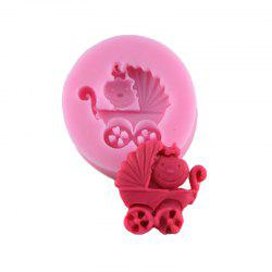 Cake Decoration Cart Silicone Fondant Mold -