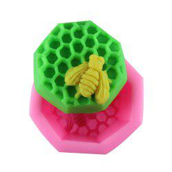Bee Honeycomb Silicone Fondant Mold -