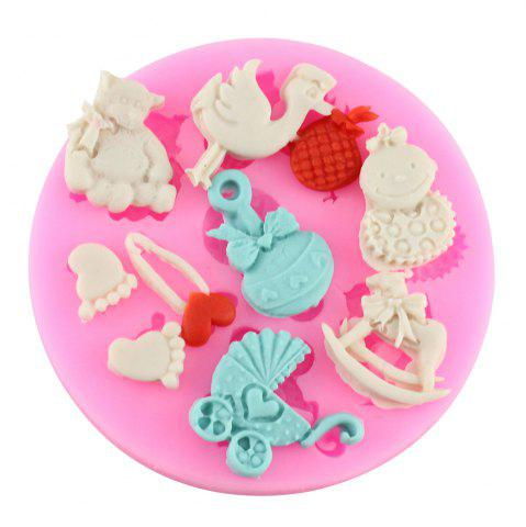 Outfit Fawn Silicone Fondant Chocolate Mold Baking Model